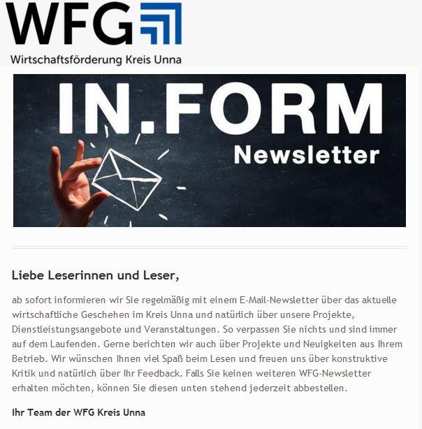 Newsletter INFORM